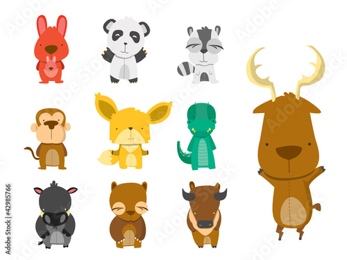 Forest Animal Set