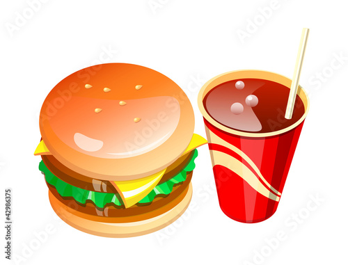 vector icon fastfood
