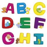 Fototapety animal alphabet A to I