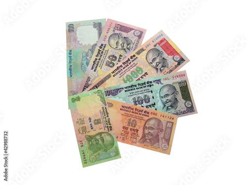 Индийские рупии.