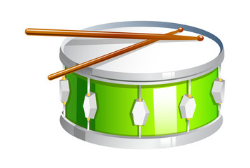 vector icon drum
