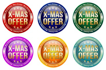 X-MAS Offer - Buttons