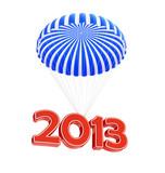 parachute new year's 2013