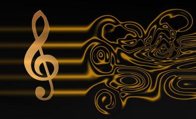 ViolinSchlüssel Notenlinien