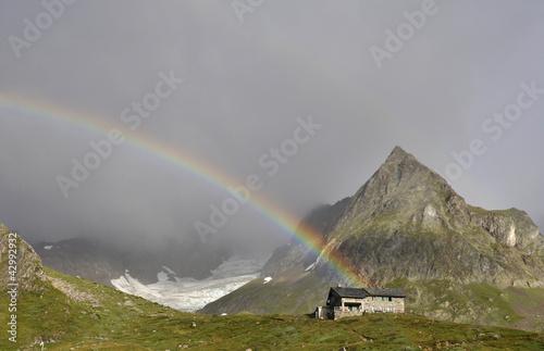 arco iris alpes