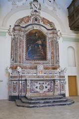 Church of Carmine. Matera. Basilicata. Italy.