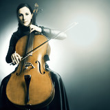 Cello musical instrument musician cellist playing