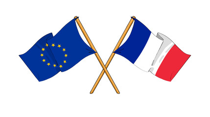 European Union and France alliance and friendship