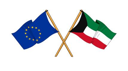 European Union and Kuwait alliance and friendship