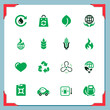 Eco icons | In a frame series