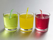 Coloured soft drinks