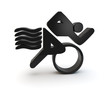 triathlon symbol 3d