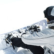 Male snowboarder