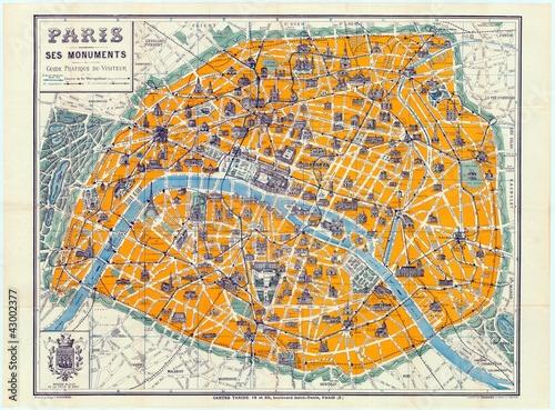 Naklejka Paryż 1926