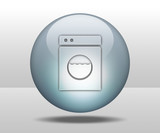 "Hovering Sphere Button ""Laundromat"""