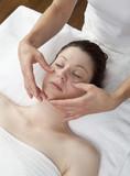 method of palming massage poster