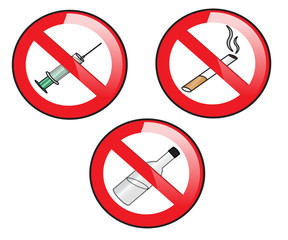 prohibiting signs