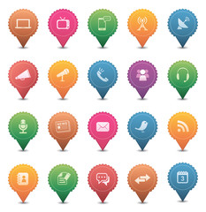 Media & Communication Icons