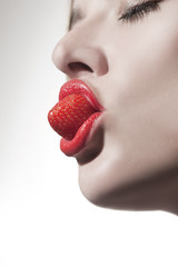 Erdbeermund