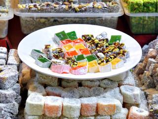 Turkish Delight plate on retail market