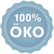 blue button öko 100 percent
