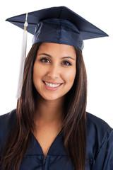 College graduate portrait