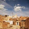 Dorf am Rande der Sahara in Tunesien