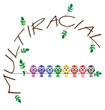 Multiracial twig text representing diversity