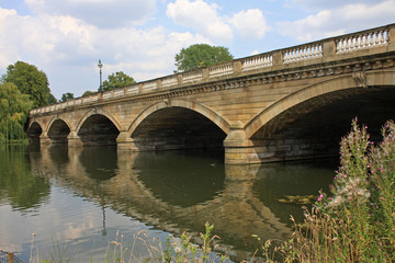 Serpentine Bridge, London