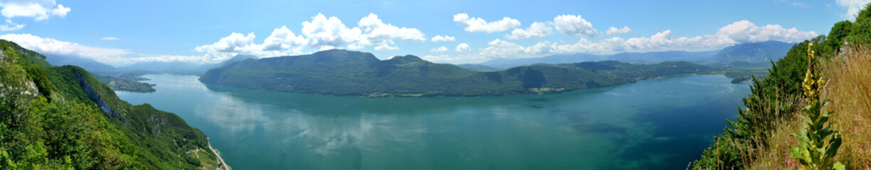 Lac du Bourget - France - Panoramique