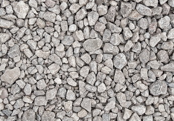 Schottersteine unterschiedliche Grössen