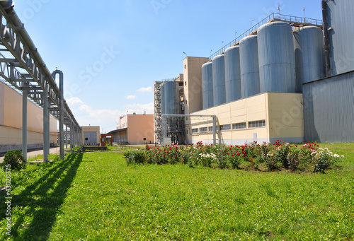 Brewing plant in Krasnodar city, Russia