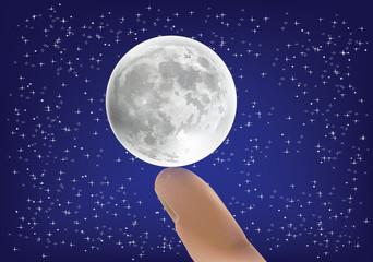 sostegno luna