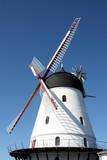 Windmill on the Danish island Bornholm