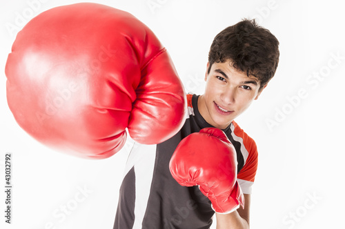 young fighter