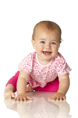 Pretty baby in pink - Süßes Baby in rosa