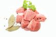 Kalbfleisch gewürfelt