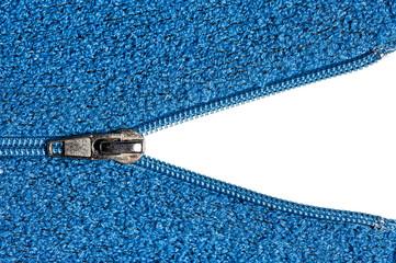 Open Zipper on Sweater