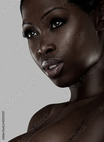 Portrait of an African beauty