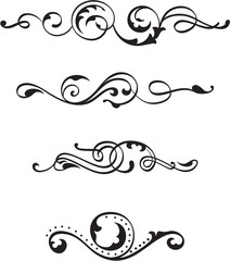 Nice swirl elements