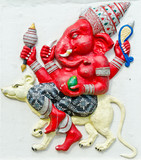God of success 24 of 32 posture. Indian or Hindu God Ganesha ava