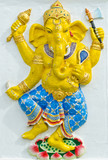 God of success 31 of 32 posture. Indian or Hindu God Ganesha ava