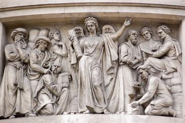 Commerce Allegorical Figure, sculpture, City of London