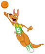 Basketball kangaroo