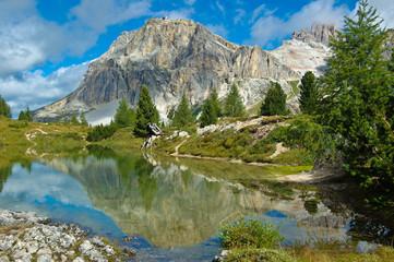 Limides Lake, Dolomites - Italy