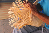 Traditional bamboo weaving