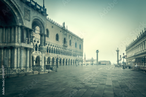 early morning Venice Italy