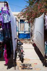 Tunisian gate, market street