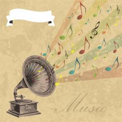 Vintage Musik Flyer