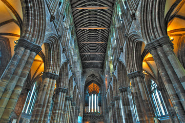 St Mungo's Cathedral in Glasgow
